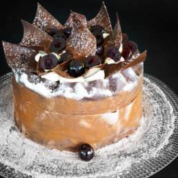 Recette Foret Noire Amarena - BROVER - Pâtisserie
