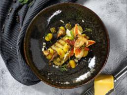 Poelée de Gnocchis aux antipasti et poulet